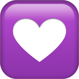 Heart Decoration ios emoji