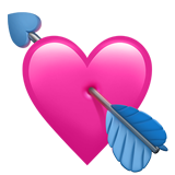 Heart With Arrow ios emoji