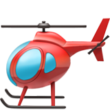 Helicopter ios/apple emoji