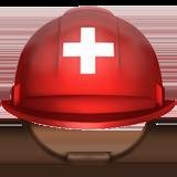 Helmet With White Cross ios/apple emoji