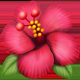 Hibiscus ios emoji