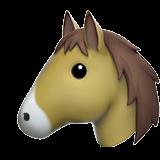 Horse Face ios emoji