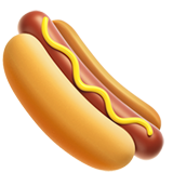 Hot Dog ios/apple emoji