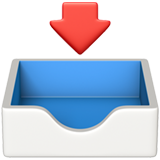Inbox Tray ios emoji