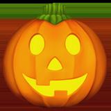 Jack-o-lantern ios emoji