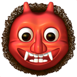 Japanese Ogre ios/apple emoji