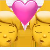Kiss ios/apple emoji