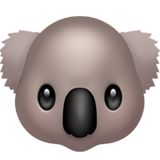 Koala ios/apple emoji