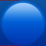 Large Blue Circle ios/apple emoji