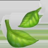 Leaf Fluttering In Wind ios/apple emoji