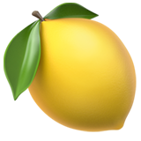 Lemon ios/apple emoji