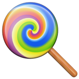Lollipop ios/apple emoji
