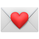 Love Letter ios/apple emoji