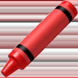 Lower Left Crayon ios emoji