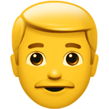Man ios emoji