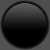 Medium Black Circle ios emoji