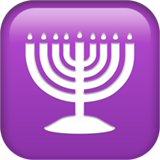 Menorah With Nine Branches ios/apple emoji