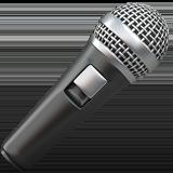 Microphone ios emoji