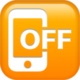 Mobile Phone Off ios/apple emoji