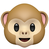Monkey Face ios emoji