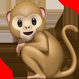 Monkey ios/apple emoji