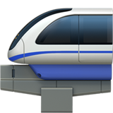 Monorail ios/apple emoji