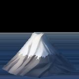 Mount Fuji ios emoji