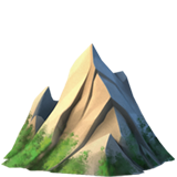 Mountain ios/apple emoji