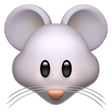 Mouse Face ios emoji