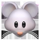 Mouse Face ios/apple emoji