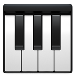 Musical Keyboard ios emoji
