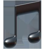 Musical Note ios/apple emoji