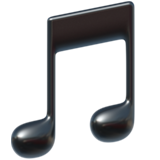 Musical Note ios emoji