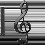 Musical Score ios/apple emoji