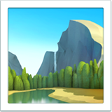 National Park ios/apple emoji