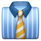 Necktie ios/apple emoji