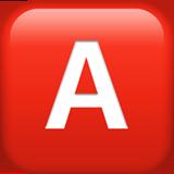 Negative Squared Latin Capital Letter A ios emoji