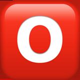 Negative Squared Latin Capital Letter O ios emoji