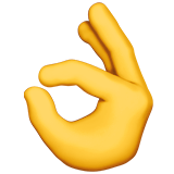 Ok Hand Sign ios/apple emoji