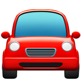Oncoming Automobile ios/apple emoji