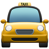 Oncoming Taxi ios emoji
