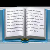 Open Book ios emoji