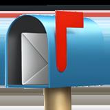 Open Mailbox With Raised Flag ios/apple emoji