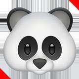 Panda Face ios emoji