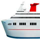 Passenger Ship ios/apple emoji
