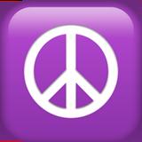Peace Symbol ios/apple emoji