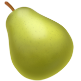Pear ios emoji