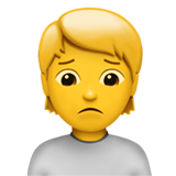 Person Frowning ios emoji