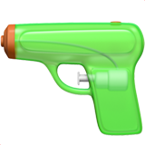 Pistol ios emoji