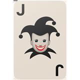 Playing Card Black Joker ios emoji